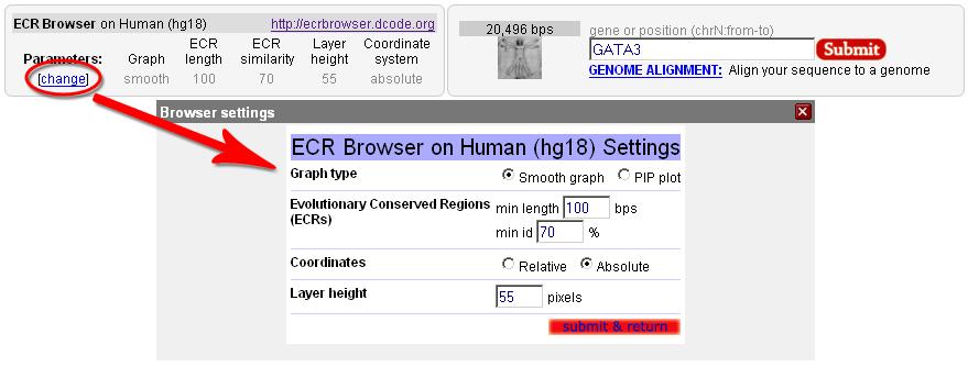 ECR Browser :: Instructions